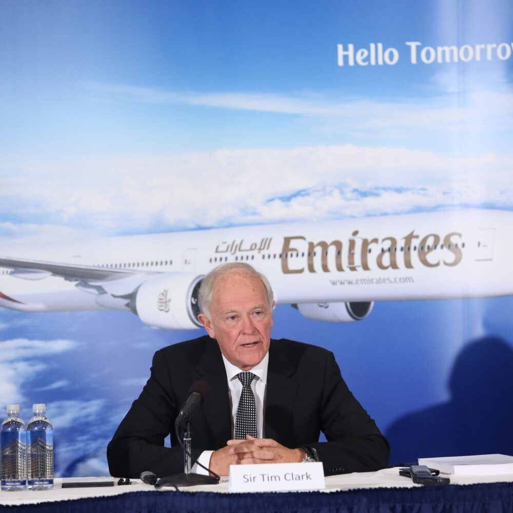 Inspiring: From Check-In Agent To President, Meet Emirates' Sir Tim Clark