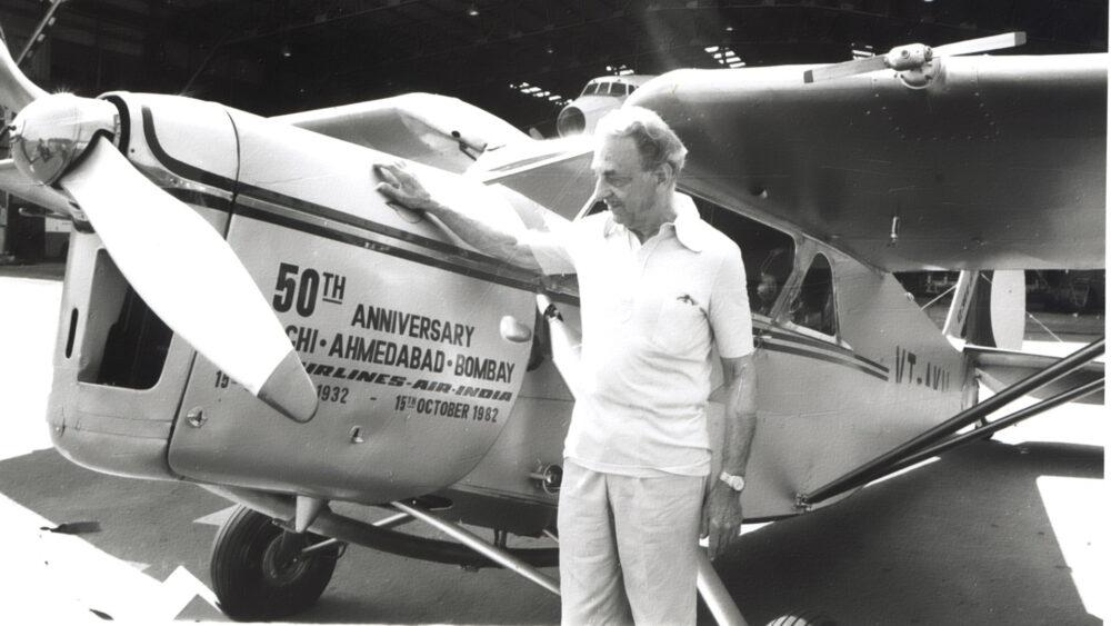 JRD Tata Plane