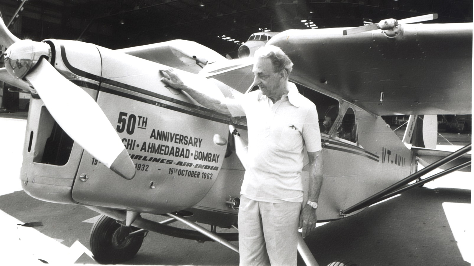 JRD Tata – The First Person To Obtain A Commercial Pilot License In India