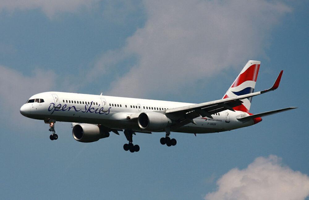 Open Skies Boeing 757