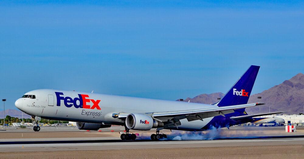 FedEx Boeing 767
