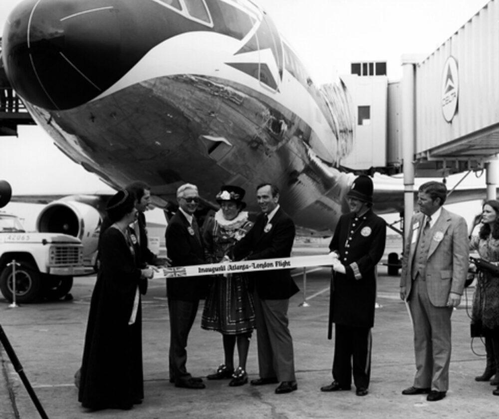 Delta L-1011 London Launch