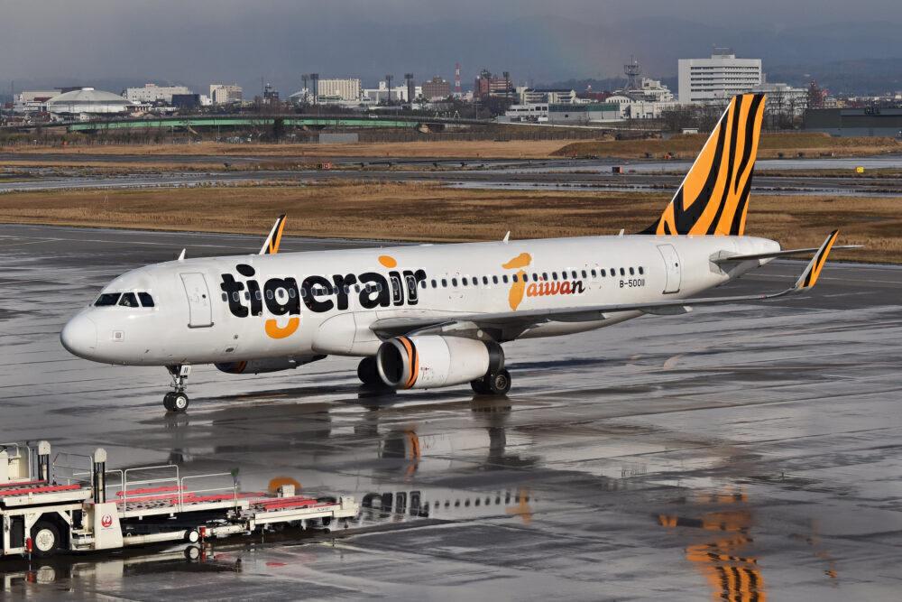 Tigerair Taiwan Airbus A320