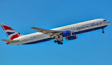 OpenSkies Boeing 767