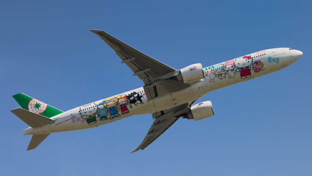 EVA Air Boeing 777-300ER (Hello Kitty)