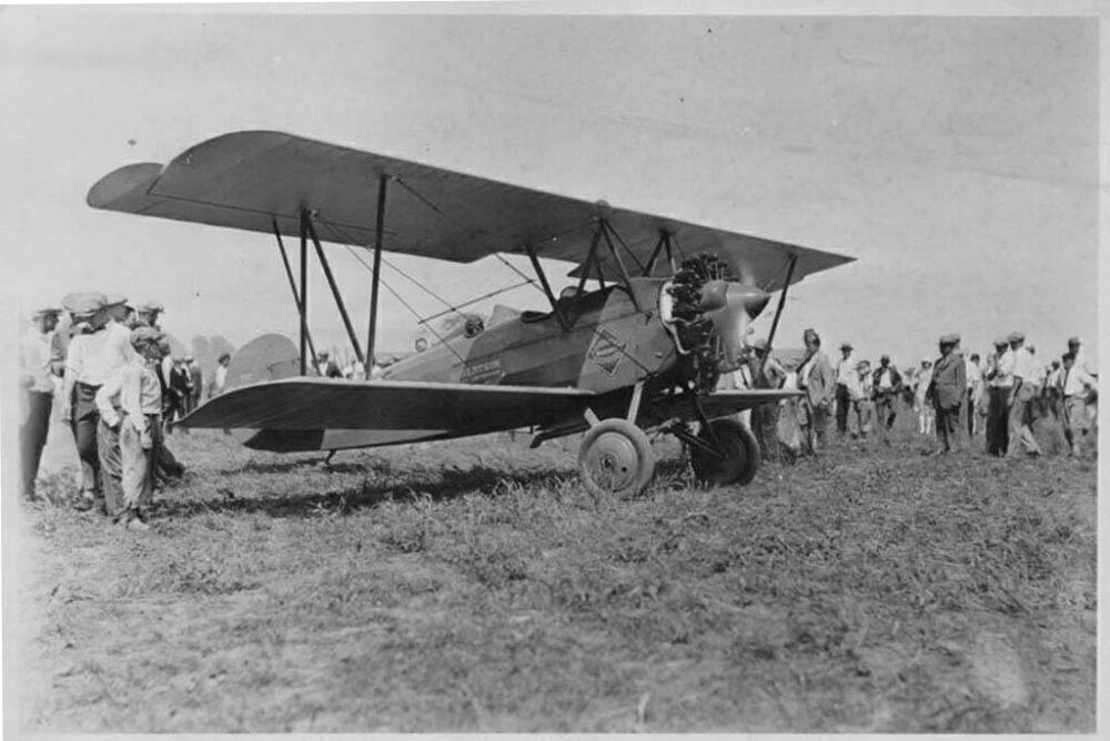 Wright J-5 Travelair airplane