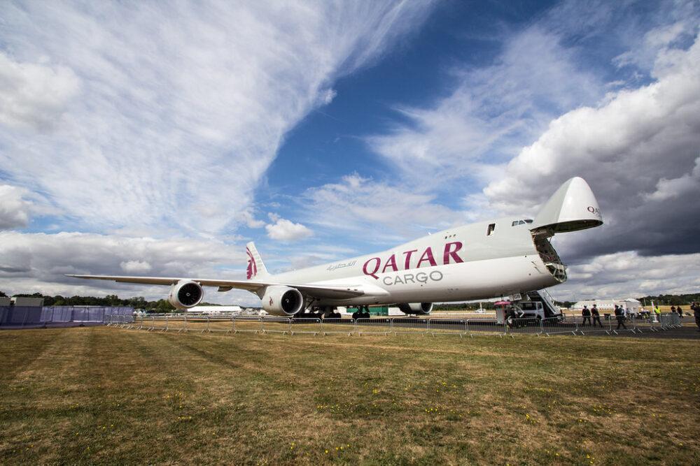 Qatar Airways Cargo Boeing 747-8F