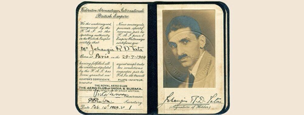 JRD Tata Licence