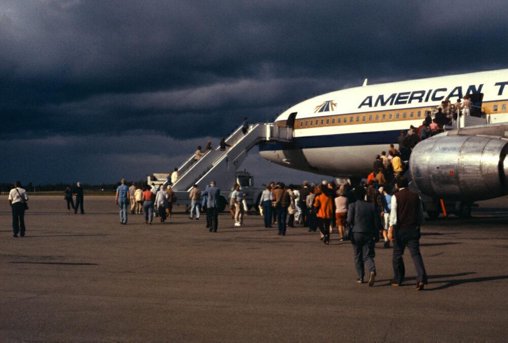 Gander Airport Lockheed TriStar