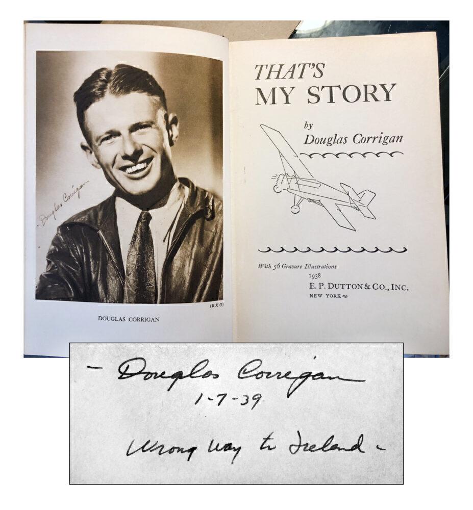 Douglas Corrigan Book
