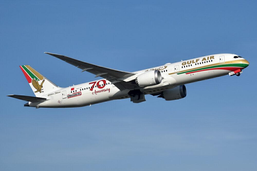 Gulf Air Boeing 787