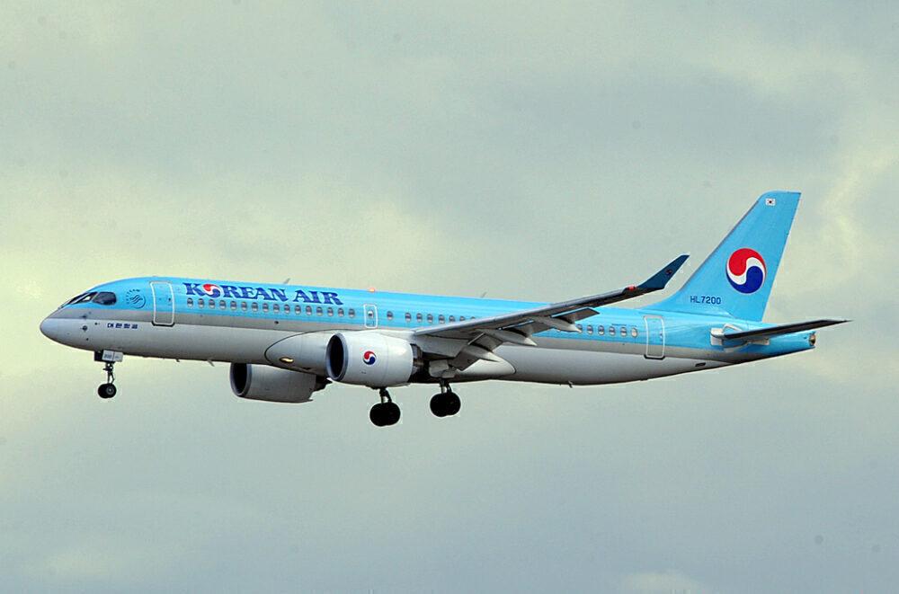 Korean Air Airbus A220