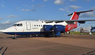 Qinetiq Avro RJ70