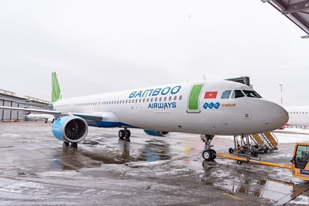 Airbus A321 Neo của Bamboo Airways