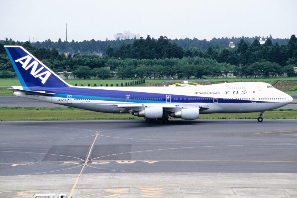 ANA 747SR
