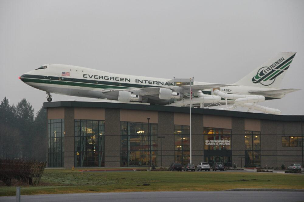Evergreen Boeing 747 Water Park