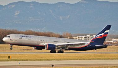 Aeroflot Boeing 767