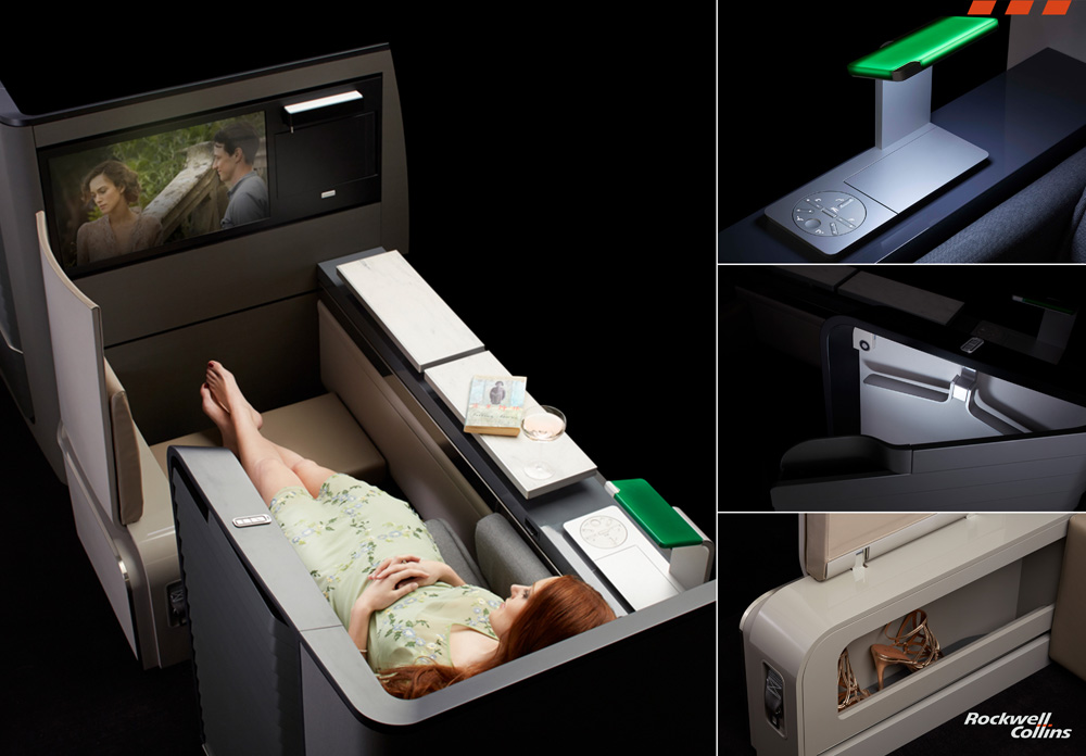 Rockwell Collins Valkyrie Bed