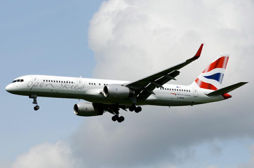 OpenSkies Boeing 757