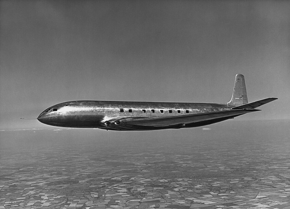 Test Flight of De Havilland Comet 1 Prototype