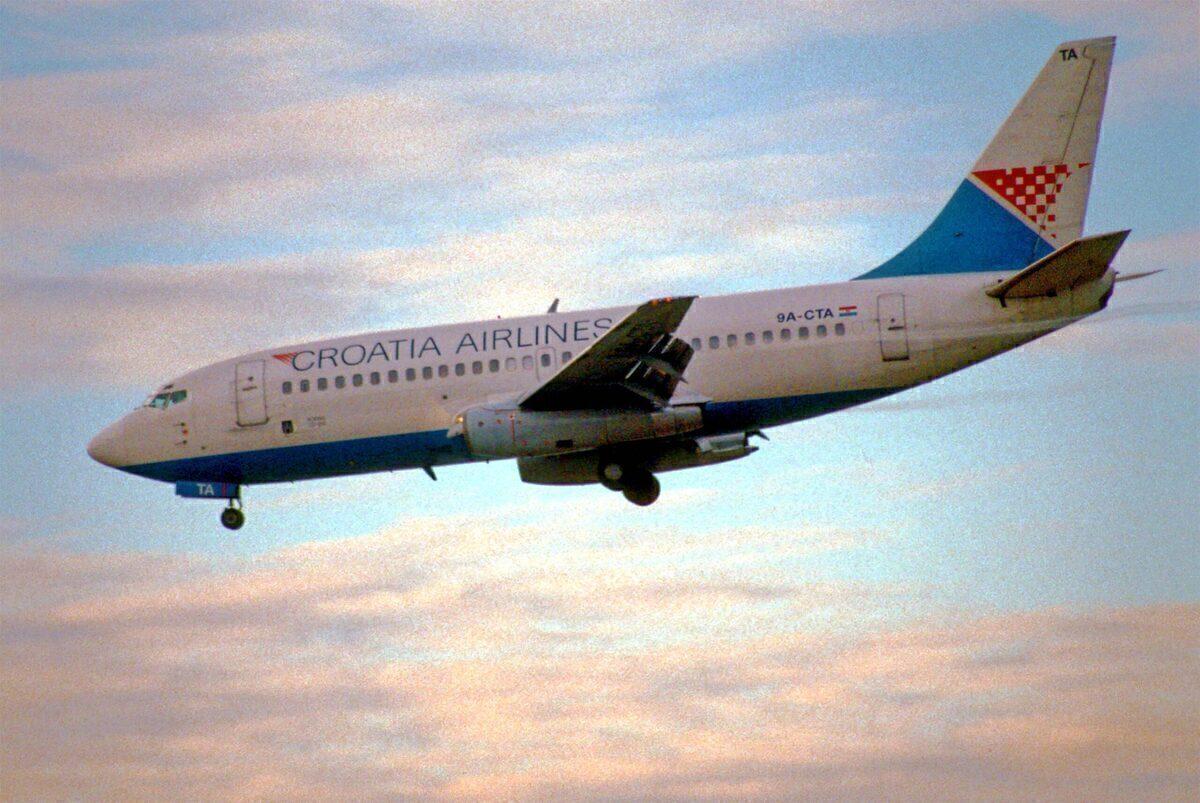 Croatia Airlines Boeing 737
