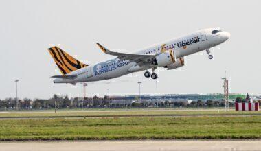 Tigerair Taiwan Airbus A320neo