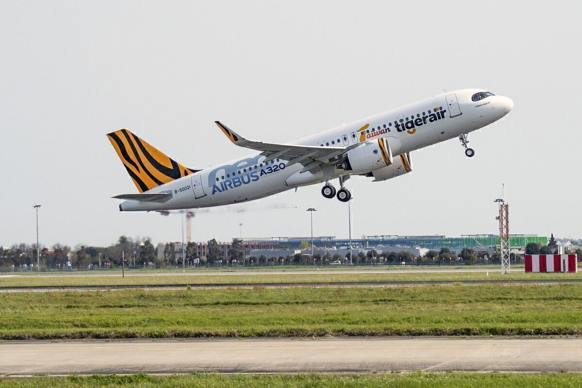 Tigerair Taiwan Takes Delivery Of First Airbus A320neo