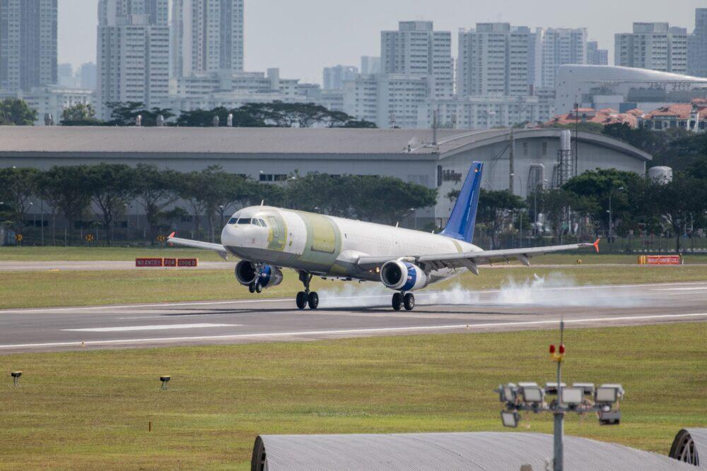 Airbus A321P2F