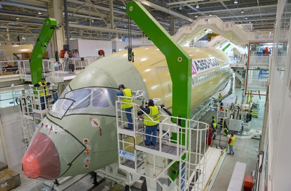 A350 production Toulouse