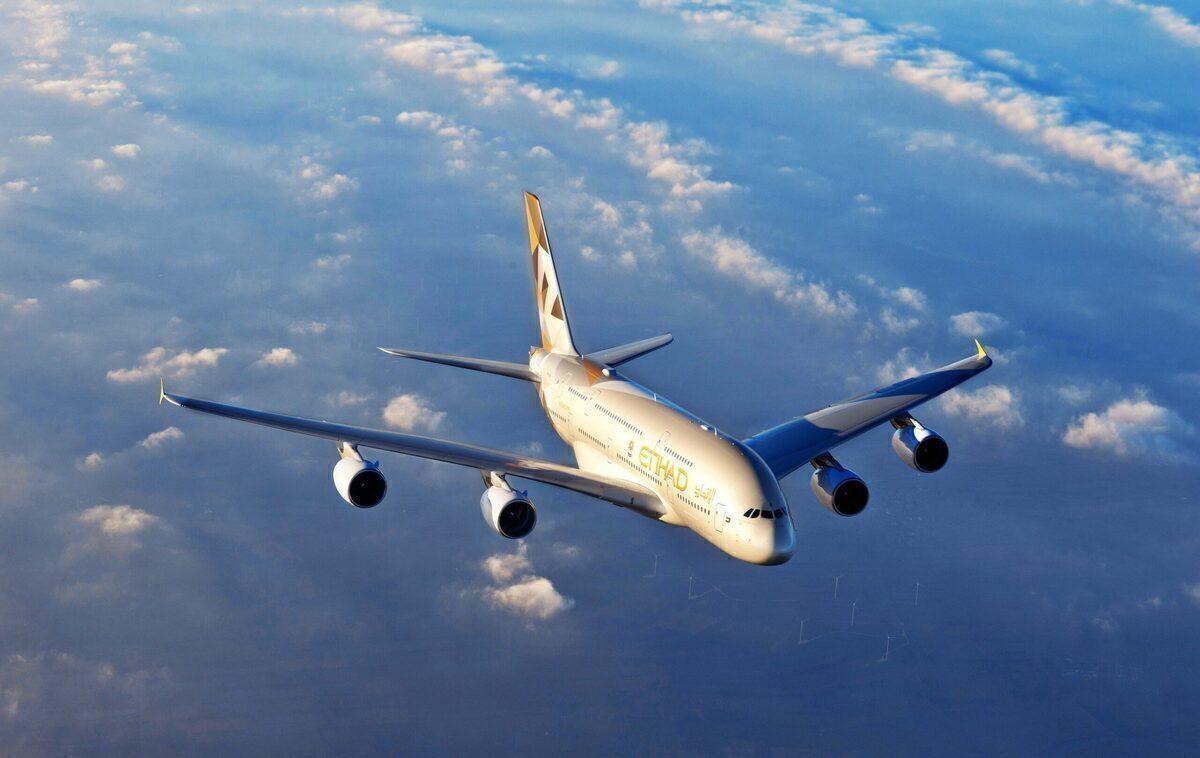 Etihad, Teruel, Airbus A380
