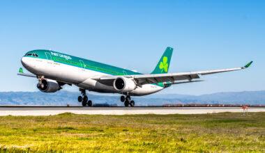 Aer Lingus Airbus A330-302 EI-GAJ