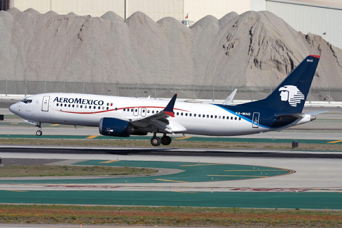 Aeromexico Boeing 737 MAX 8 XA-MAQ(1)