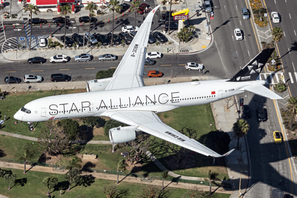 Air China (Star Alliance Livery) Airbus A350