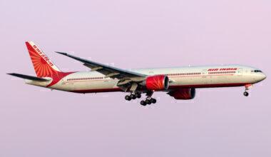 Air India Boeing 777-337(ER) VT-ALU
