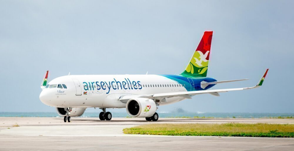Air Seychelles A320neo 'Veuve'