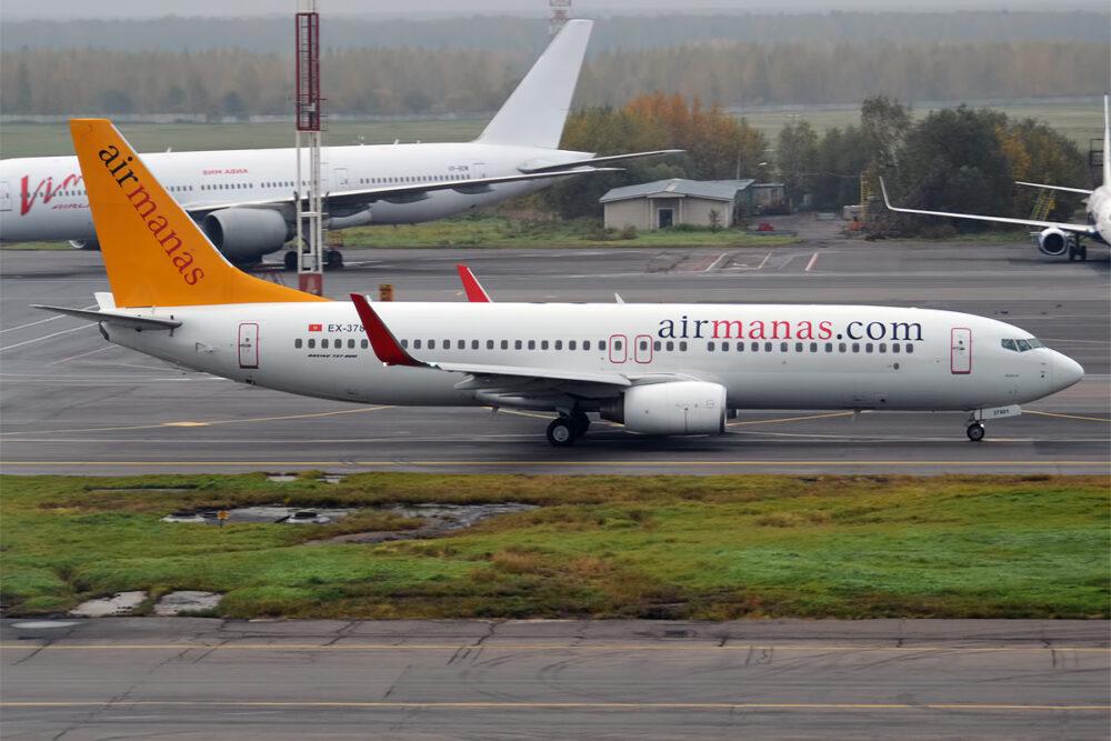 Air Manas 737