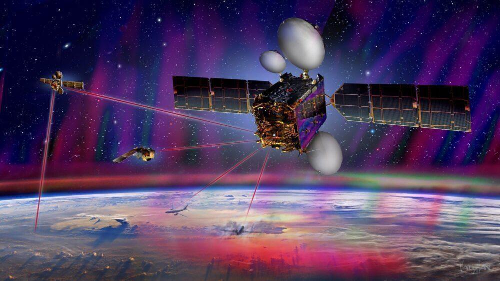 Airbus laser beam wifi