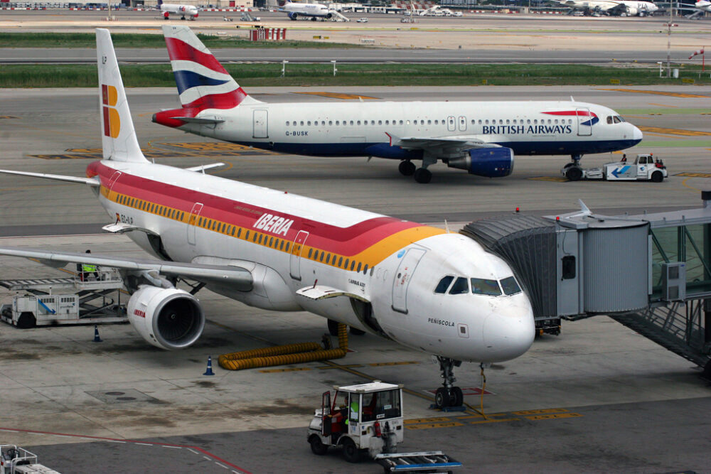 British Airways A320 Iberia A321