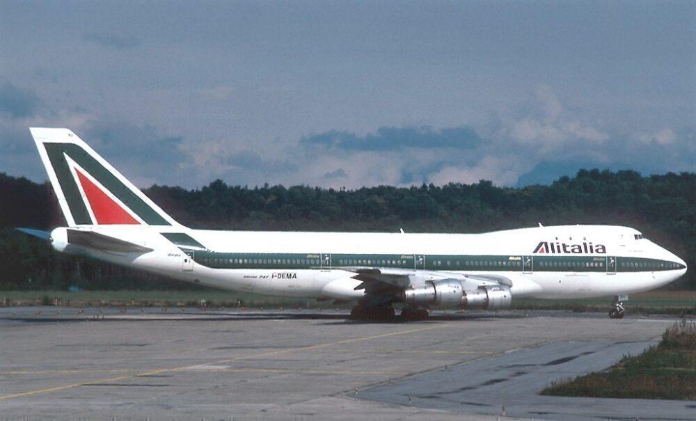 Alitalia Boeing 747