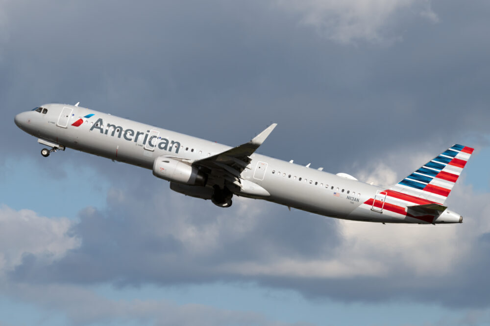 American Airbus A321T