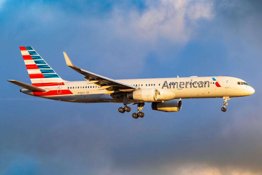 American Boeing 757