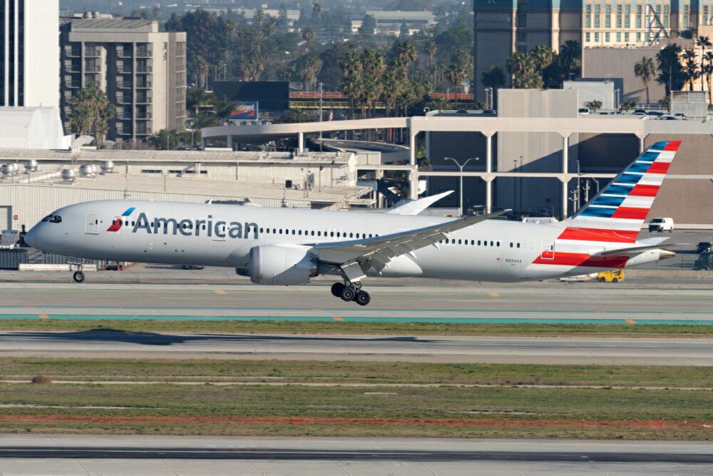 AA Boeing 787