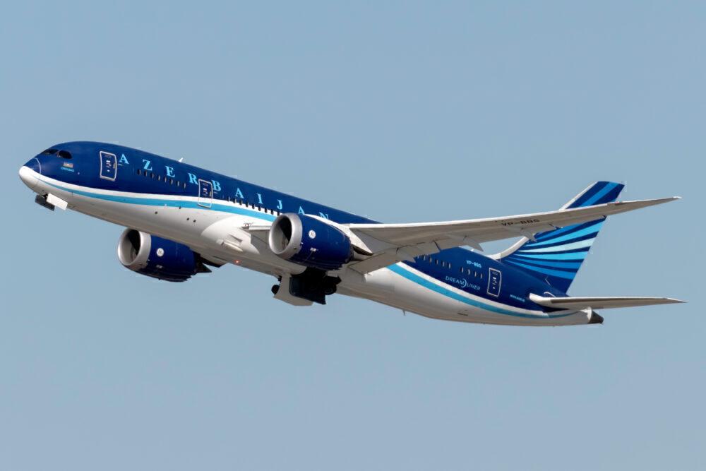 Azerbaijan Airlines Boeing 787-8 Dreamliner VP-BBS