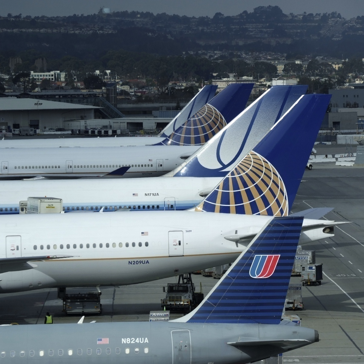 The History Of United Airlines' Livery
