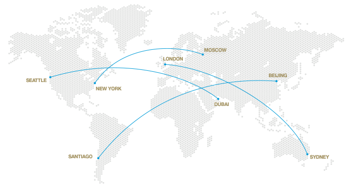 BBJ 777X Map