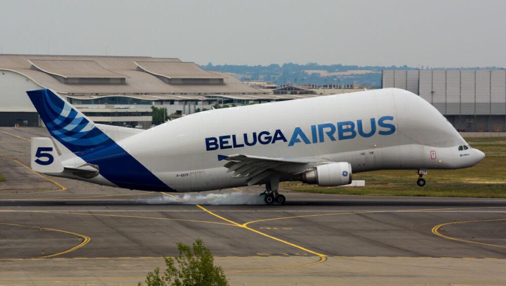 Airbus Begins Using Sustainable Fuels To Power The Beluga Fleet