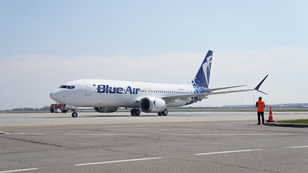 Blue Air's First Boeing 737 MAX Enters Commercial Service