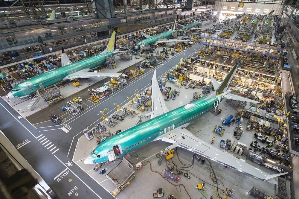 Boeing MAX factory