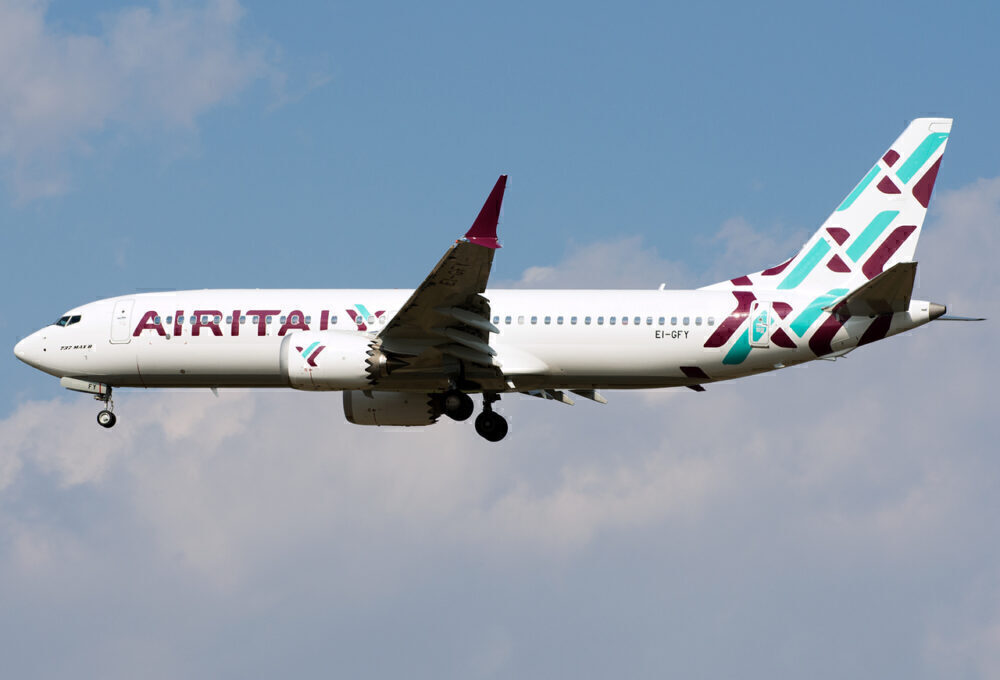 Air Italy Boeing 737 Max
