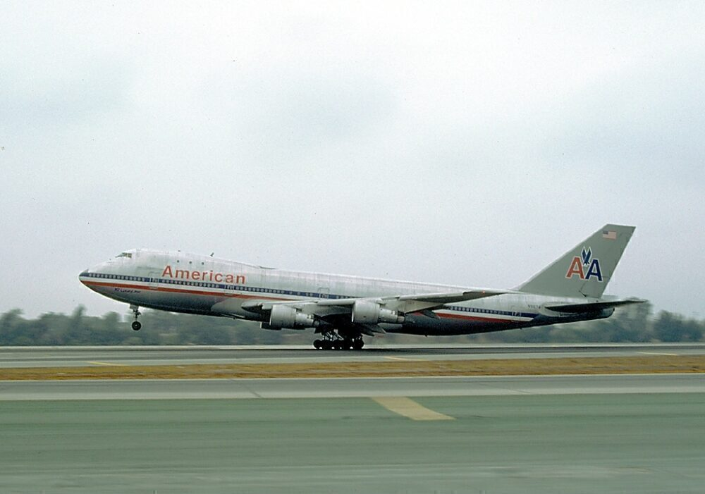 American Boeing 747